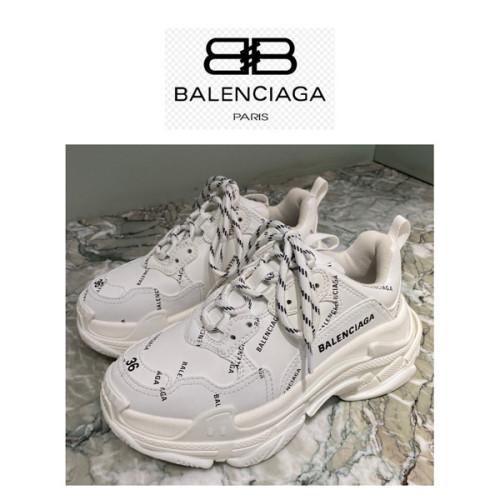 関税込★BALENCIAGA★バレンシアガ レプリカ のロゴいっぱいトリプルS 536737W2FA2