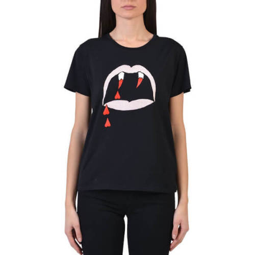 サンローラン Tシャツ コピー Blood Luster サンローランTシャツBlack関 351662Y2RI21000