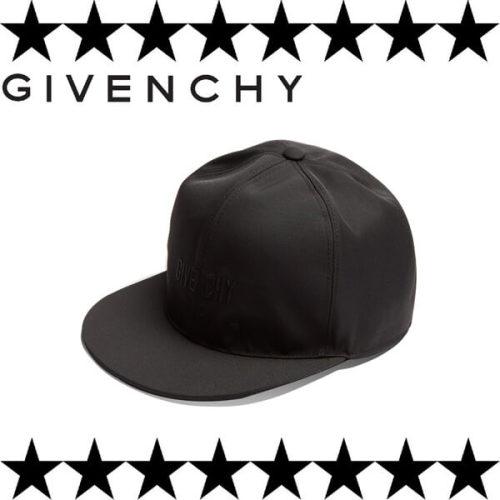 ジバンシィ 帽子コピー Star print canvas cap ロゴスター帽子黒