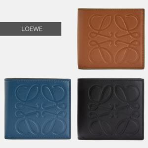 LOEWE ロエベ 財布 コピー ブランド ビフォールド コイン ウォレット 106.54A501