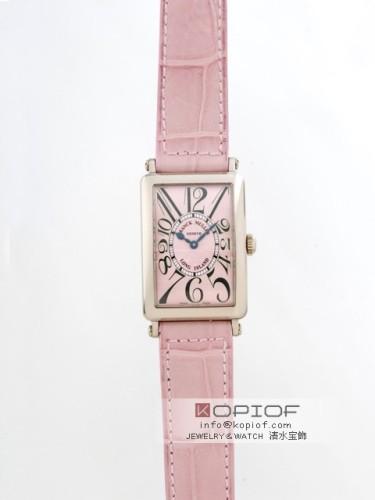 フランクミュラー ロングアイランド スーパーコピー952Q OG OG(WG) ピンク皮 ピンク