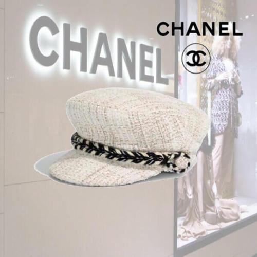 19AW シャネル キャップ スーパーコピーCHANEL帽子 セーラー キャップ/ベージュ & ゴールド A76378 X12053 ME809