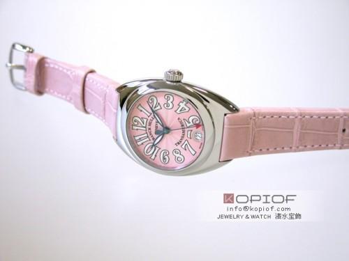 フランクミュラー スーパーコピー2000L ピンク皮 ピンク