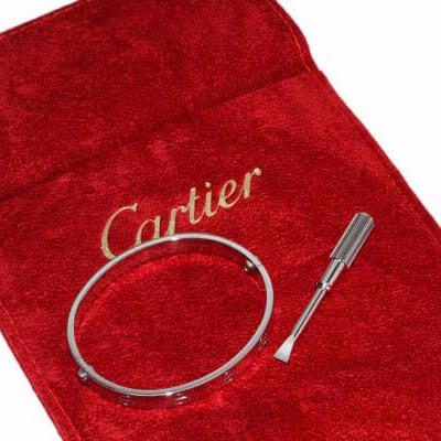 カルティエ ブレスレット コピー Pt950 ラブブレス B6035716