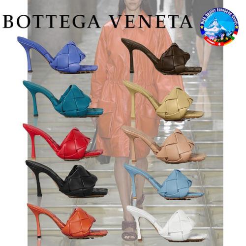 2020新作【Bottega Veneta】ボッテガヴェネタ サンダル 偽物 多数雑誌掲載!話題のBVリドサンダルパデッドサンダル 608854VBSS01000