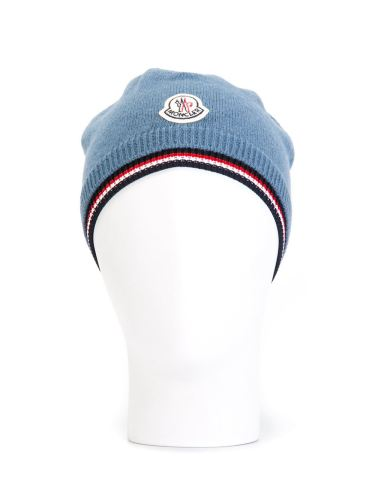 モンクレール 帽子 スーパーコピーMONCLER ロゴパッチ付き ビーニー A2091003110004960