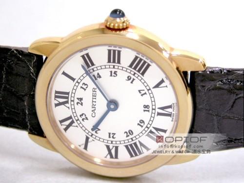 カルティエ ロンド スーパーコピーW6700355 SG SM ホワイト