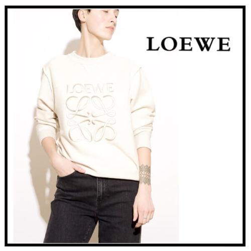 ☆LOEWE☆ロエベ トレーナー コピー アナグラム Anagram Sweatshirt お洒落&便利!S6109591CR