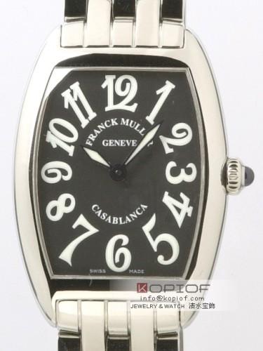 フランクミュラー カサブランカ スーパーコピー1752Q CASA OAC OAC(SS) ブラック
