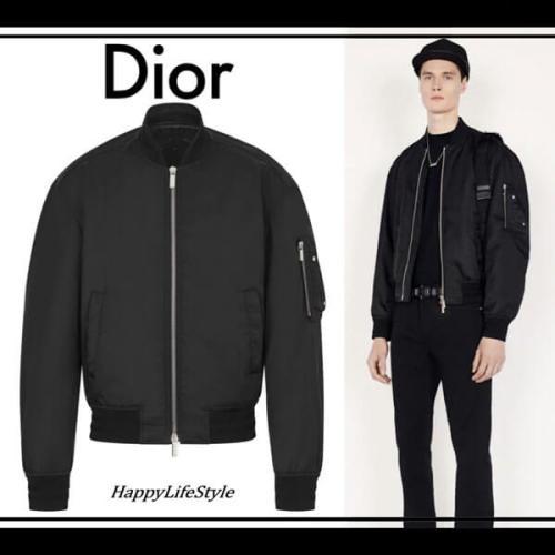 Dior◇偽物 サドルパッチ Bomber Jacket