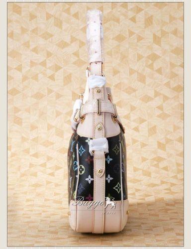 ルイヴィトン モノグラムマルチカラー スーパーコピー【ルイヴィトン】 モノグラムマルチカラー グレタ M40196 ノワール