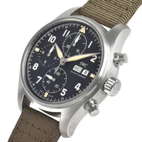 IWC パイロットウォッチクロノ オートマティック スピットファイア IW387901