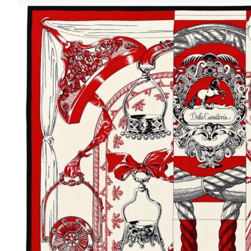 エルメス スカーフ コピー Cavalleria d'Etriers カシミアシルク140