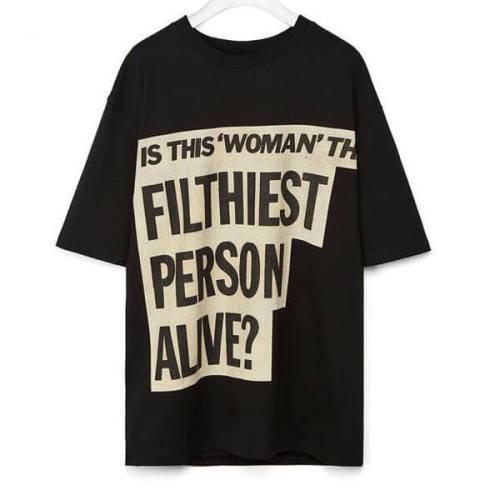 ロエベ tシャツ パロディ Divineコラボ 半袖 クルーネック Tシャツ