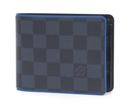 ルイヴィトン 財布 コピー ポルトフォイユ・ミュルティプル N63245 ダミエ・コバルト カウハイド レザー