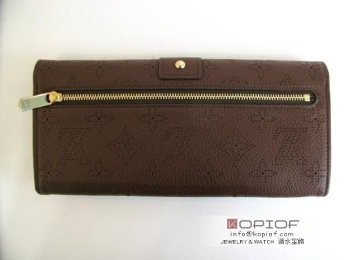 ルイヴィトン モノグラム マヒナ 財布スーパーコピーポルトフォイユアメリア M58125