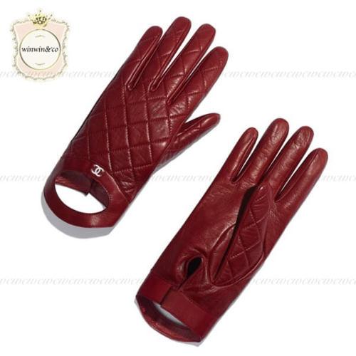 CHANEL 手袋 偽物ラムスキン グローブ♪バーガンディー AA0737