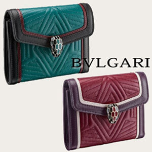 【BVLGARI】ブルガリ即対応 SERPENTI DIAMOND BLAST 財布スーパーコピー