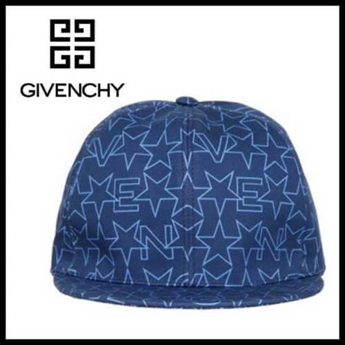 ジバンシィ 帽子コピー スライド 星柄キャップ プレゼント ブルー