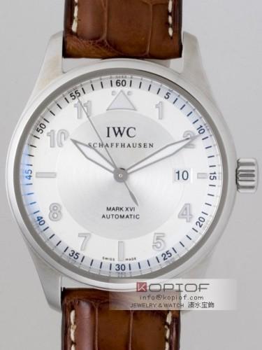 IWC スピットファイヤー スーパーコピーIW325502 マークXVI 茶皮 シルバー
