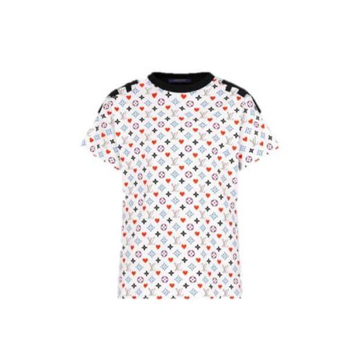ルイヴィトン ゲームオン Tシャツ コピー 限定品☆ヴィトン GAME ON新作 コントラストバックTシャツ 1A8M70