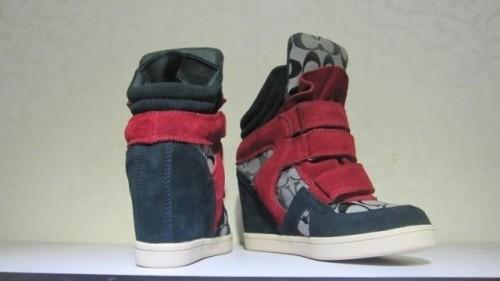 コーチ靴レディースハイヒールの靴 D015