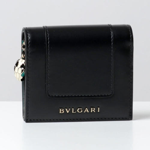 ブルガリBVLGARI 三つ折り財布 コピー288032 セルペンティ フォーエバー