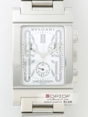 ブルガリ レッタンゴロ スーパーコピーRTC49WSSD クロノグラフ ホワイト
