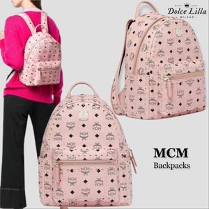 MCM エムシー エムリュック メンズ コピー MCM studded stark backpack