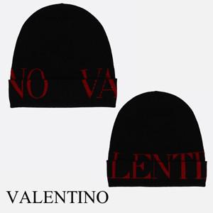 Valentino ヴァレンティノ キャップ コピー メンズ ブラック 新作 ニットキャップ SY0HB00FDRG0NR