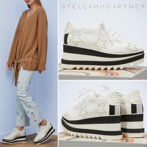 Stella McCartney スニーカー ステラ ELYSE スターズ スニーカー 501742W1EB49080ステラマッカートニー 靴 コピー