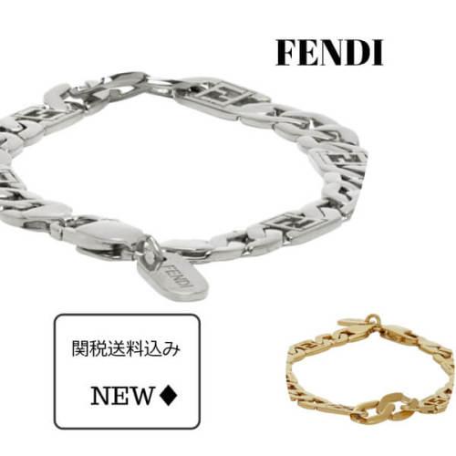 フェンディ ブレスレット コピー FENDI MEN'S Forever Fendi ブレスレット GOLD/SILVER