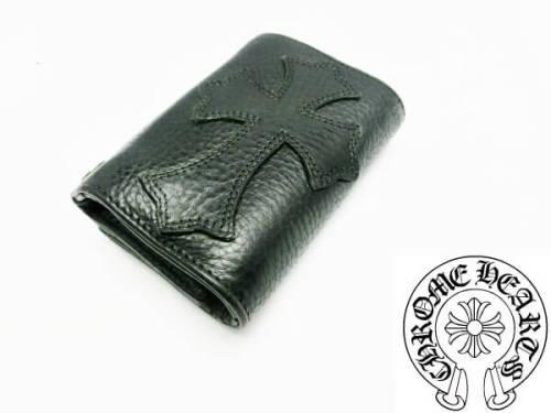 クロムハーツ 財布 コピー3フォールドウォレット クロスパッチ