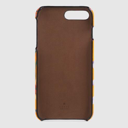 19SS グッチ フローラ プリント iPhone 8 Plus ケース
