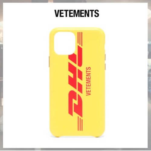 ヴェトモン iphoneケース 偽物 VETEMENTS iPhone 11 Pro ケース イエロー