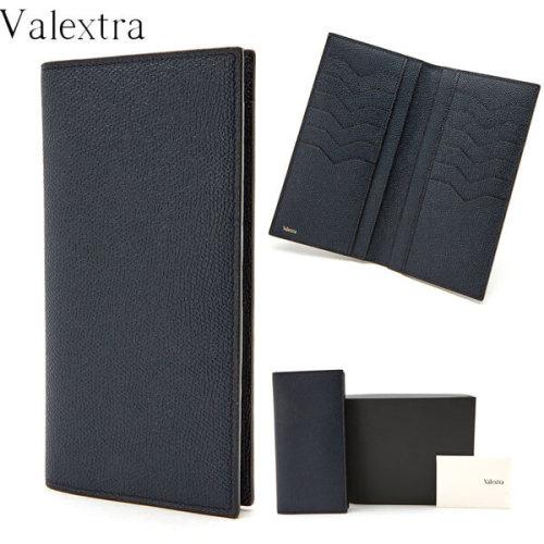 ヴァレクストラ スーパーコピー Valextra セレブが愛すLUXURY♪折りたたみ財布 V9L28 02800PO