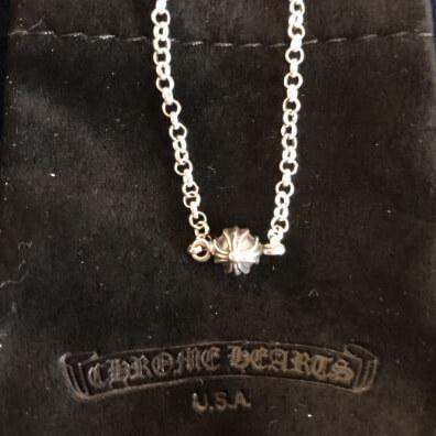 クロムハーツ コピー ネックレス インボイス CH チェーンビーズ 925スターリングシルバー