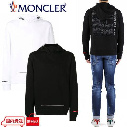 モンクレール パーカー コピー MONCLER パーカー フーディ オーバーサイズ ブラック 8041050 8098U