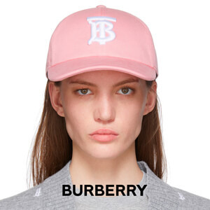 Burberry バーバリー キャップ コピー★Cuteなピンク★ロゴベースボール