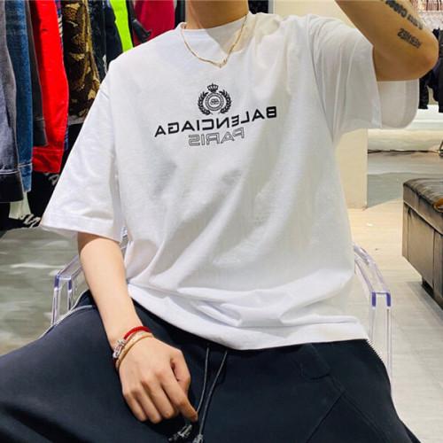 バレンシアガ tシャツ 偽物 BALENCIAGA tシャツ ロゴ LOGO T-SHIRT 594579TGV609000