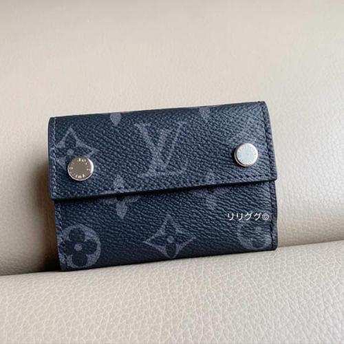 ルイ ヴィトン ミニ 財布 コピー モノグラム エクリプス ディスカバリー コンパクト ウォレット M67630