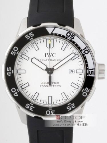 IWC アクアタイマー スーパーコピーIW356806 オートマッチック2000 ラバー ホワイト