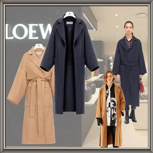 LOEWE☆ロエベ完売必須 20AW ウール カシミア オーバーサイズ コートコピーS2281141PA