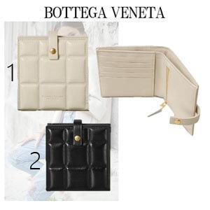 BOTTEGA VENETA ボッテガミニウォレットスーパーコピー 全2色 カーフ パッド付
