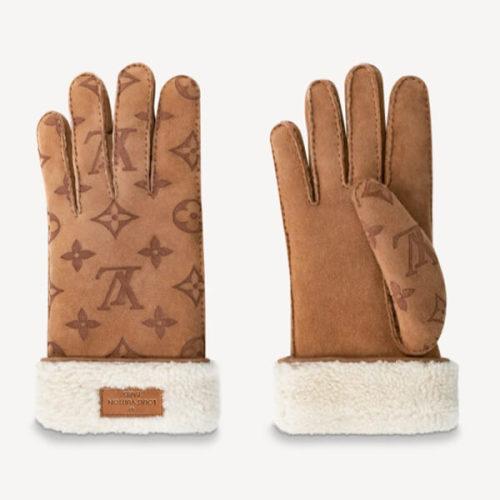 ルイヴィトン ゴン・モノグラム シアリング 手袋コピー M76578