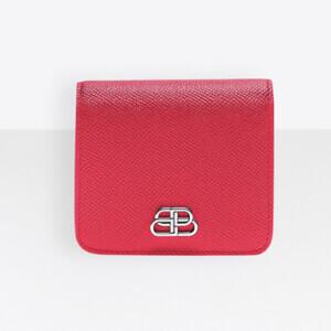 新作★BALENCIAGA★BBレプリカ フラップコイン&カードホルダー財布 (49283119)