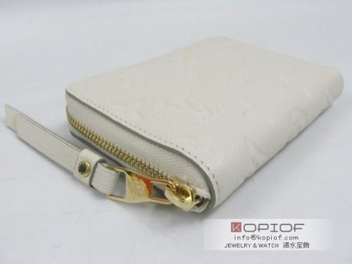 ルイヴィトン モノグラムアンプラント財布スーパーコピーポルトフォイユ・スクレットコンパクト ネージュ M93432