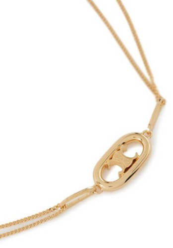 CELINE セリーヌ ネックレス 偽物 Triomphe necklace トリオンフネックレス CELZ42KNGOLZZZZZ00
