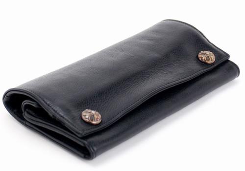 クロムハーツ 財布 コピー定番レザーロングウオレット