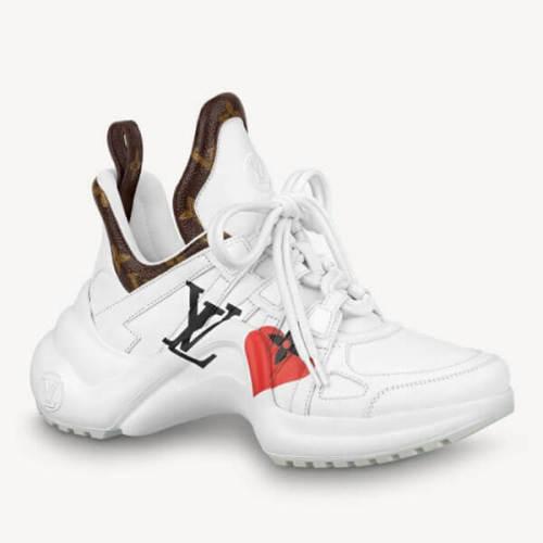 ルイヴィトン ゲームオン スニーカー コピー ヴィトン GAME ON アークライトスニーカー 靴/白 新作 1A8MRP